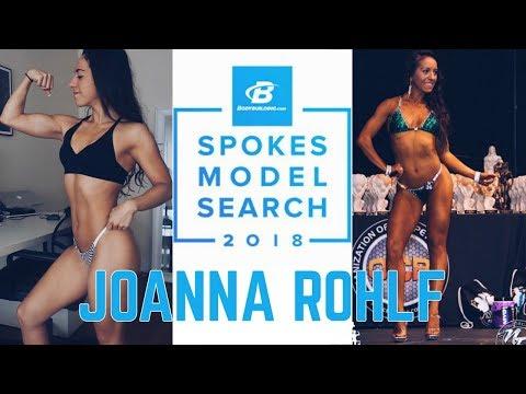 Joanna Rohlf || Bodybuilding.com Spokesmodel Search 2018