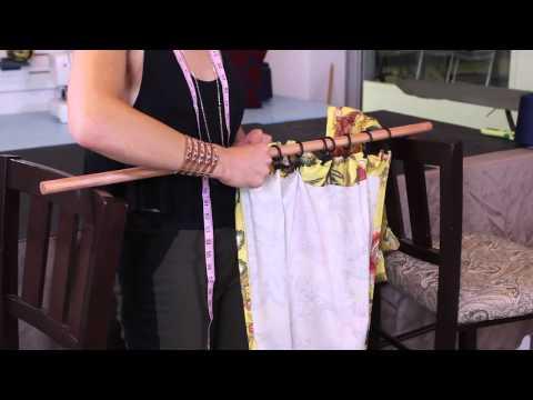 Making Curtains &  Pillows - Curtain Clip RIngs