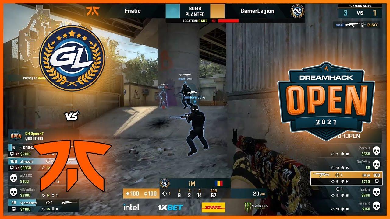 Download INSANE 1V3 FROM iM   GamerLegion vs Fnatic   DreamHack Open NOV 2021 Closed Qual - HiGHLiGHTS   CSGO