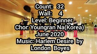 Harlem  Desire - Line Dance (사…