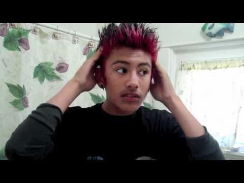 How I Spike Up My Hair Youtube