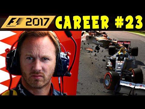 F1 2017 CAREER MODE PART 23: BAHRAIN GP - RED BULL RACING   INTERACTIVE LIVE STREAM
