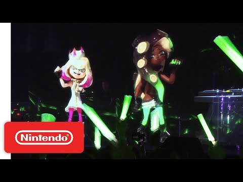 Splatoon 2 - Off the Hook Concert at Polymanga 2018 - Nintendo Switch