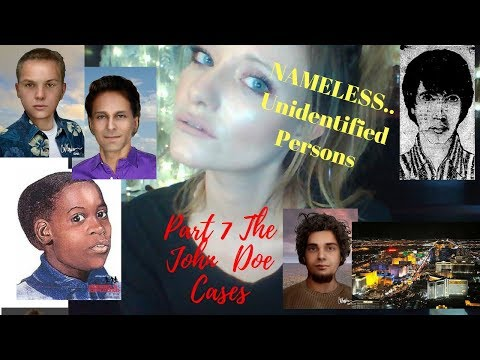 Nameless Files      The John Does -- Part 7 by Colie Tyler -Covers