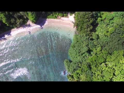 American Samoa | Hidden Beach Drone Footage