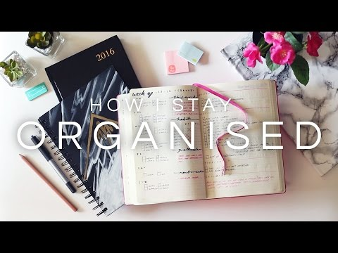 How I Stay Organised · My Planner System + Bullet Journal ·