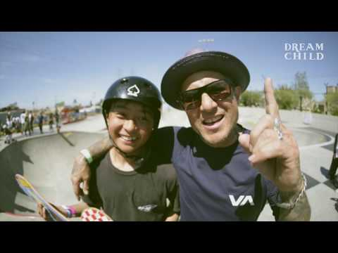 Sota Tsuji 1st place VANS w/ Coach Christian Hosoi