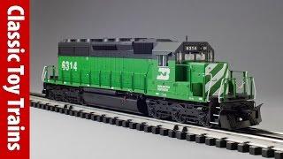 Огляд спадщина Лайонел журнал SD40 | класичні іграшки поїзда