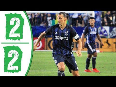 LA Galaxy vs Seattle Sounders 2-2 Extended Highlights & All Goals 2019