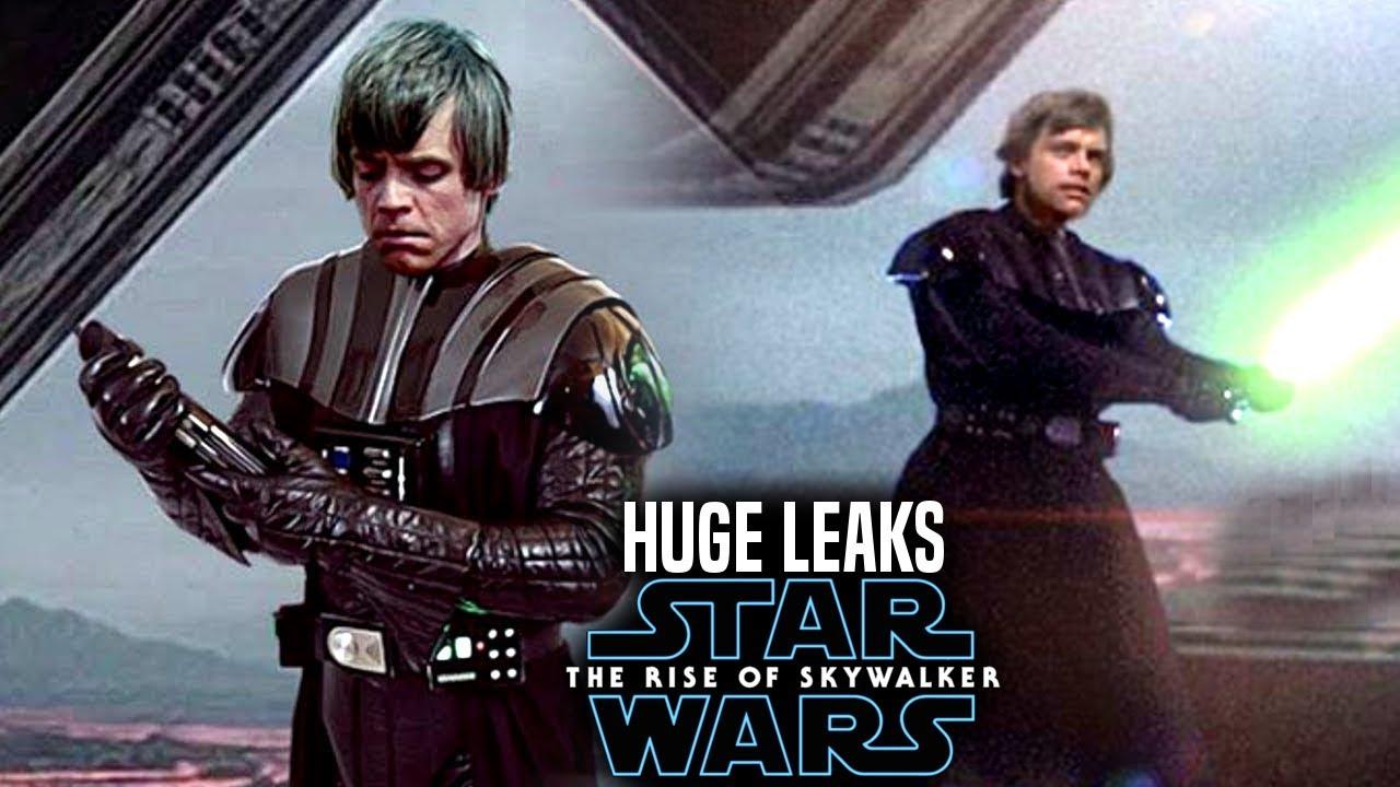The Rise Of Skywalker Leaks Change The Original Trilogy Star Wars Episode 9 Youtube