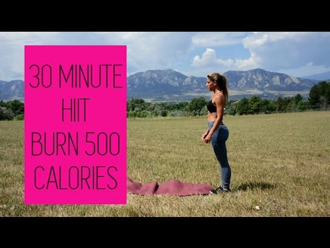 HIIT - REAL TIME - BURN 500 CALORIES - Country Strong Workout - No equipment needed!