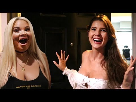 SURPRISING GIRLFRIEND WITH HER FAVORITE INSTAGRAM STAR!! (Trisha Paytas, Amanda Cerney)