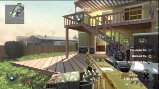 Black Ops Gold M-60 90+ Kills On Nuketown Demolition