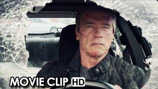 Terminator Genisys Movie CLIP 'Bus on the Bridge' (2015) - Arnold Schwarzenegger HD