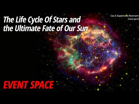 The Life Cycle Of Stars and the Ultimate Fate of Our Sun