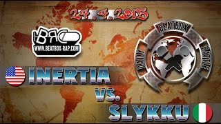 Inertia VS Slykku | Daily Beatbox Battle ( 2015-07-27 )