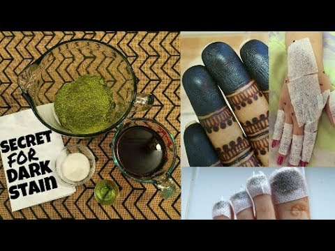 Secret For Dark Stain How To Make Mehndi Paste At Home For Dark Stain Henna Paste Beautiful You