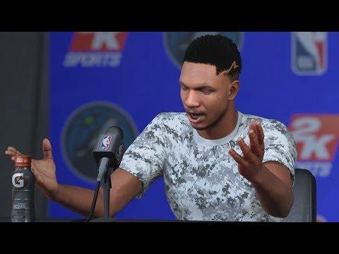 NBA 2K18 My Career - Signed with Jordan Brand! PS4 Pro 4K Gameplay