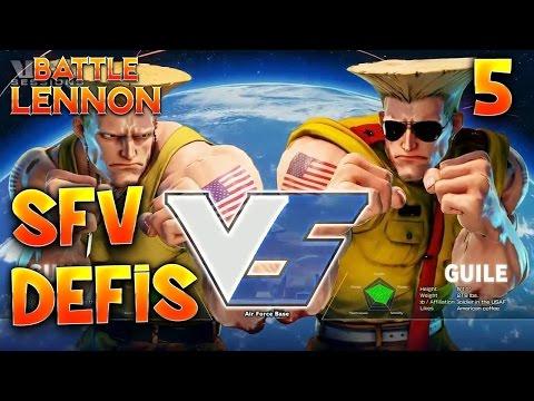 STREET FIGHTER V : LES DEFIS!!! (ALEX+GUILE)