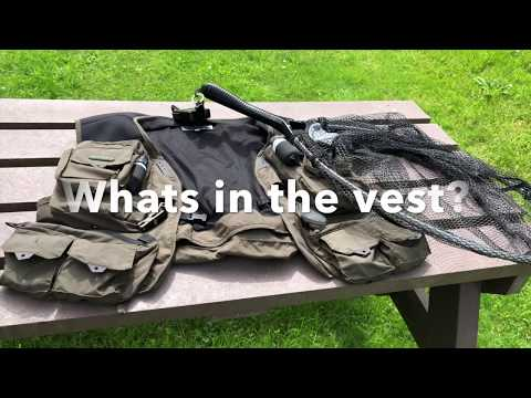 Fishing Vest (Whats In The Fly Fishing Vest)