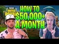 HOW TO MAKE $500+ A DAY ONLINE WITH FORTNITE