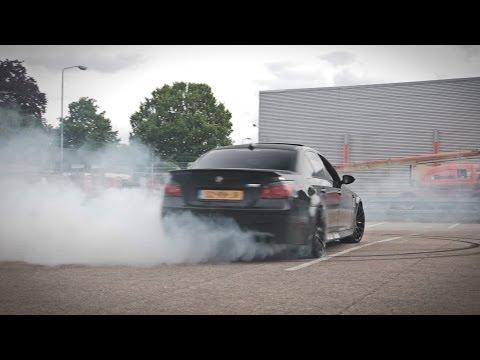 BMW M5 Drifting! - LOUD V10 SOUND! - 1080p HD