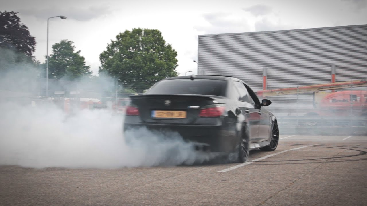Bmw M5 Drifting Loud V10 Sound 1080p Hd Youtube