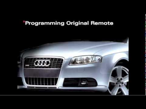Audi Homelink Instruction YouTube - Audi homelink