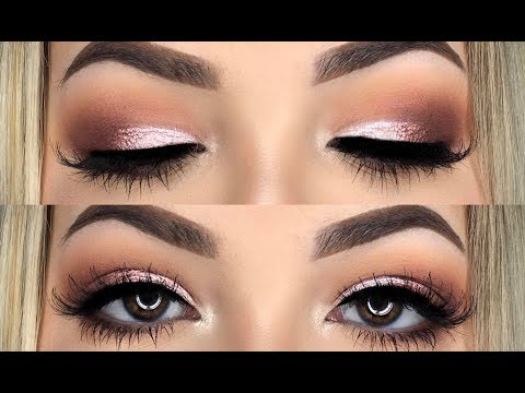 JACLYN HILL X MORPHE PALETTE // ROSE GOLD HALF CUT CREASE