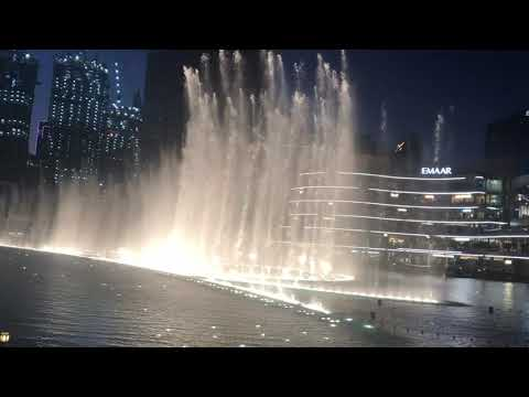 The Dubai Fountain Show | Dubai Vlog |