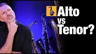 Alto vs Tenor Saxophone which is best to start learning