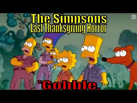 Bart Simpsons S 31 E 8 Gobble Last Thanksgiving of Horror
