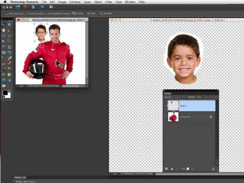 Photoshop Elements Tutorials- Replace A Face