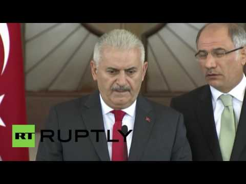 Turkey: PM Yildirim condemns coup attempt, says 2800 arrests made