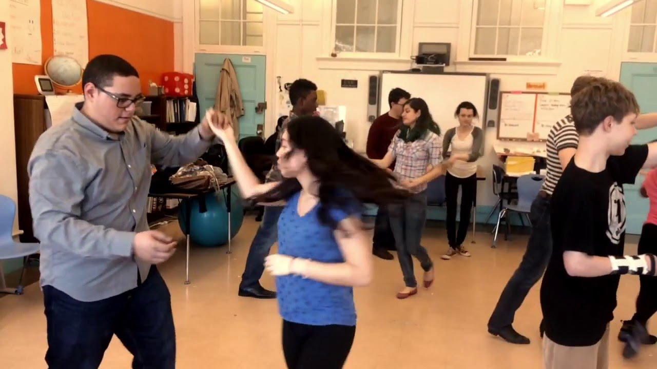 GAVRILOV DANCE- Students learning the Waltz and Salsa - YouTube