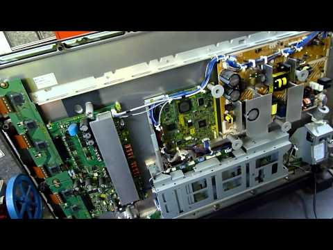 Panasonic Plasma With Cracked Panel
