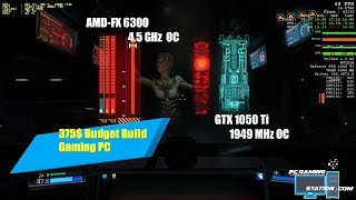 Budget Build 375$ AMD-FX 6300 w/ Gigabyte 78LMT-USB3 rev 6.0 paired with GTX 1050 Ti