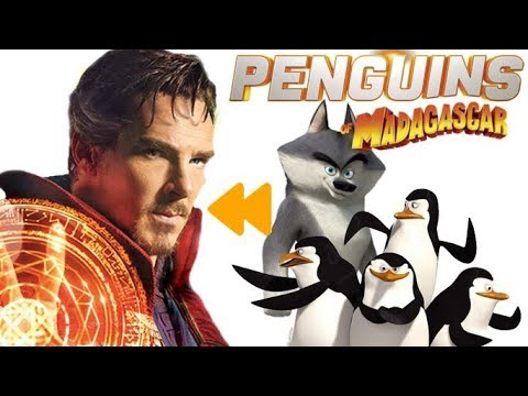 """Download """"Penguins of Madagascar"""" (2014) Voice Actors and Characters"""