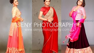 Actress Namitha Pramod Photoshoot Behind the Scenes