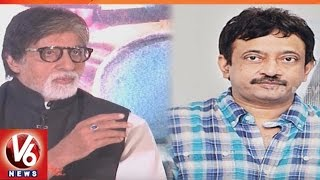 Ram gopal varma gets emotional with amitabh bachchan comment | sarkar 3 | v6 news