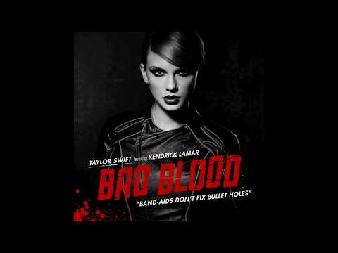 Taylor Swift - Bad Blood feat. Kendrick Lamar (Official Audio) from 1989 Platinum Edition