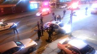 Police shooting In Baltimore. One dead, two injured.