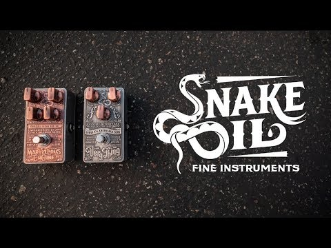 Introducing Snake Oil Fine Instruments - The Very Thing & Marvellous Engine