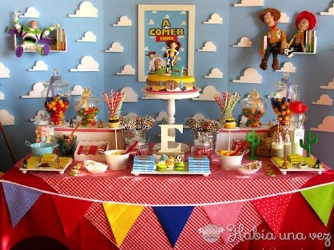 Fiesta de toy story ni os party ideas mesa de dulces for Ideas para decorar mesa de dulces