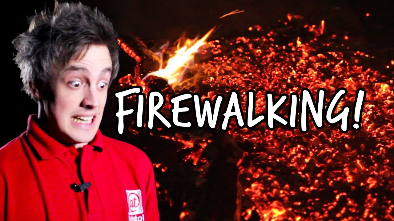 How To Walk On Red Hot Coals The Science Of Firewalking We The Curious Youtube