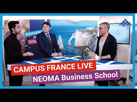 Campus France Live presents NEOMA Business School
