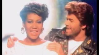 George Michael & Aretha Franklin~ I Knew You Were Waiting For Me 1986