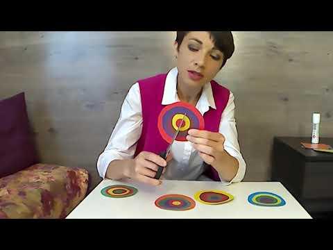 Развивающие игры своими руками   Игра Волшебные кружочки