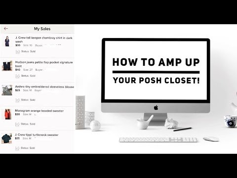How To Amp Up Your Poshmark Closet/ Make More Sales!