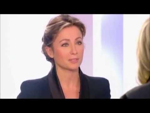 Marine Le Pen ridiculisée par Anne-Sophie Lapix - La Belle et la Bête - Vidéo youtube
